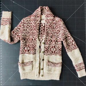 Aritzia Wilfred free wool cardigan jacket